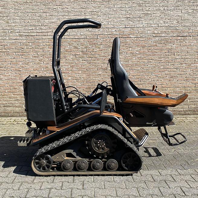 Weersink Ziesel rolstoellift electrische rolstoel lift uit