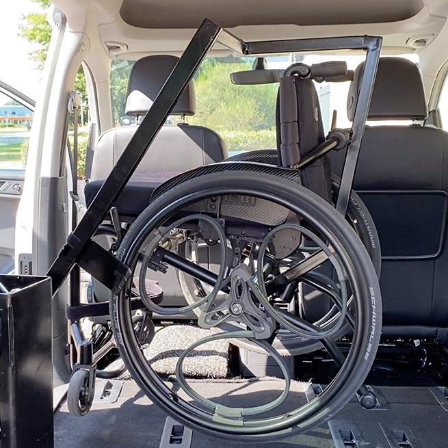 Weersink rolstoel opbergen rolstoellift spin prijs takelen