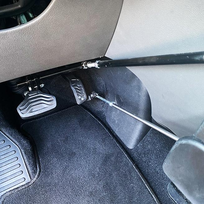 Weersink Veigel gas en rem systeem handmatig bus pedalen