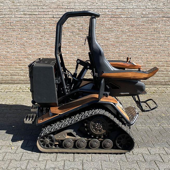 Weersink Ziesel rolstoellift electrische rolstoel lift midden