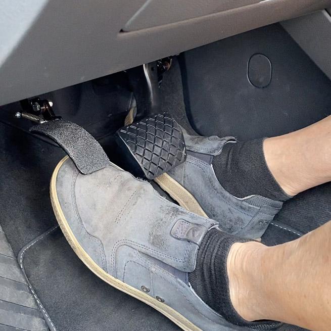 Weersink Linker Gaspedaal rijhulpmiddelen stuurhulpmiddelen inklappen