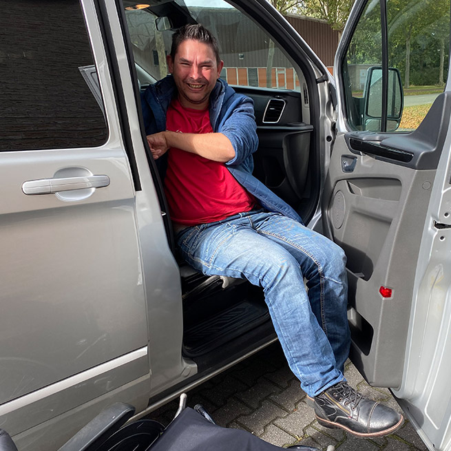 Weersink-Mini Lift rolstoel Passagiers omhoog