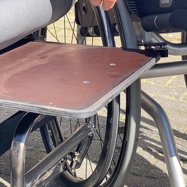 Weersink Ziesel rolstoellift electrische rolstoel lift overstap plank