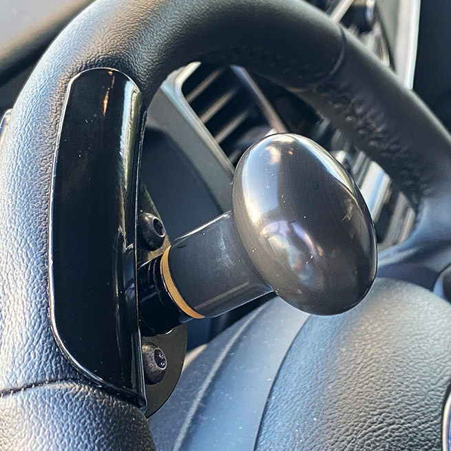 Weersink Veigel gas en rem systeem handmatig bus stuurknop