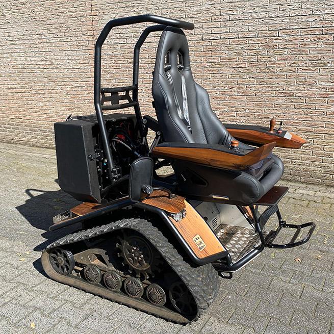 Weersink Ziesel rolstoellift electrische rolstoel lift half uit