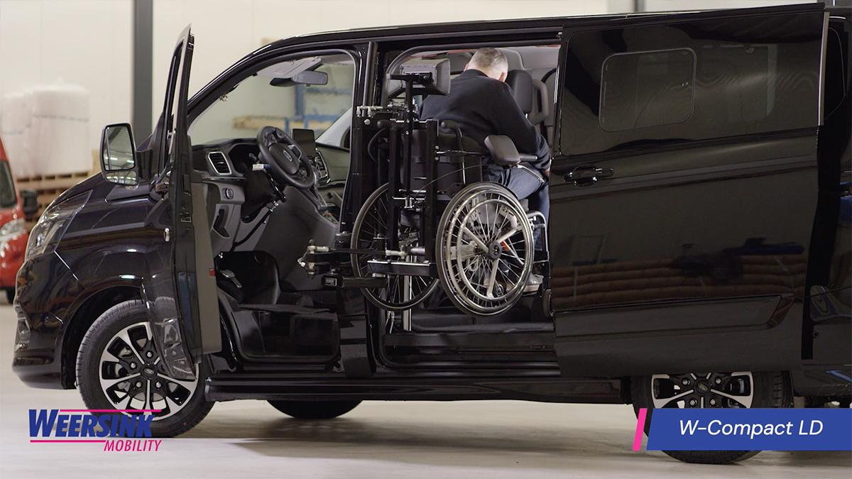 Rolstoelbus Zelfrijden in rolstoel w-compact ld website video thumbnail