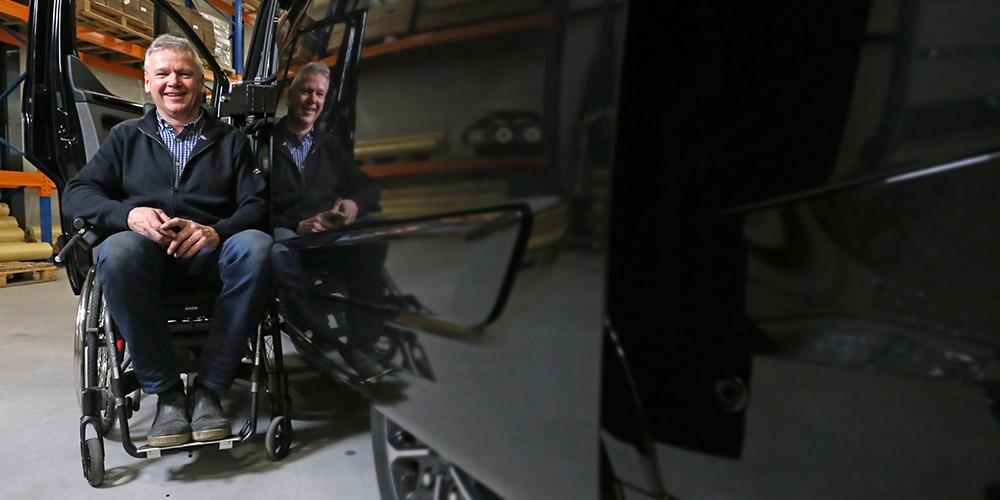 Weersink Mobility Rolstoellift voor bus Rene cowork testimonial