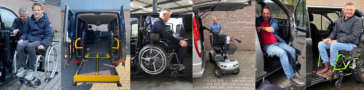 Over Ons Rolstoelliften compilatie product showreel rolstoelbus