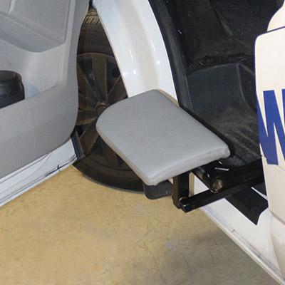 Weersink Rolstoel Mini Lift Vlakke Zitting Rolstoelbus 2