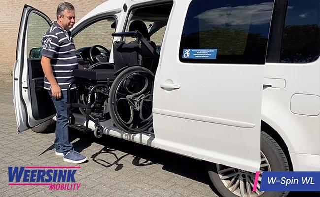 Weersink Kofferbaklift prijs video afmeting rolstoellift rolstoel