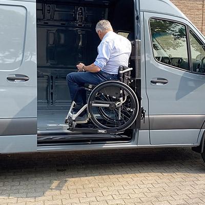 Rolstoelcamper invalidenlift rolstoel huber