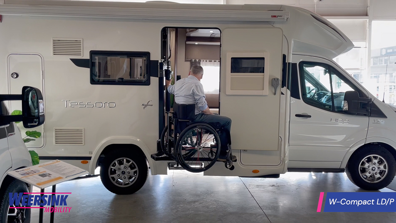 Weersink Rolstoelcamper rolstoellift invalide camper