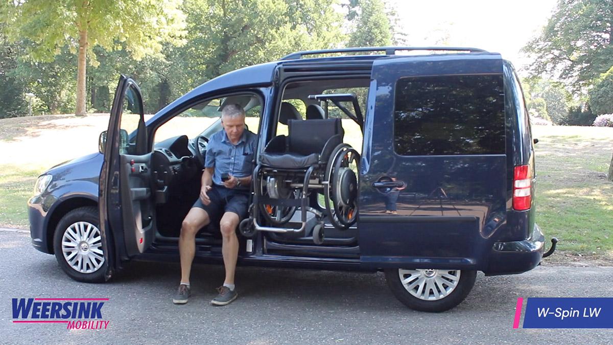 Weersink Rolstoellift rolstoeler hydrauliek